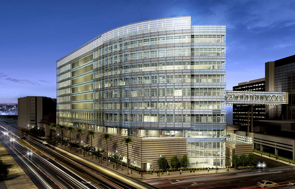 John a martin associates inc cedars sinai advanced for Pavilion cost per square foot